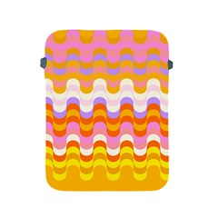 Dna Early Childhood Wave Chevron Rainbow Color Apple Ipad 2/3/4 Protective Soft Cases by Alisyart