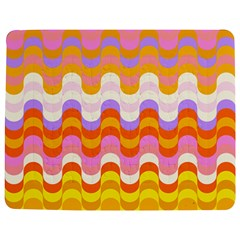 Dna Early Childhood Wave Chevron Rainbow Color Jigsaw Puzzle Photo Stand (rectangular) by Alisyart