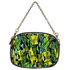 Don t Panic Digital Security Helpline Access Chain Purses (one Side)  by Alisyart