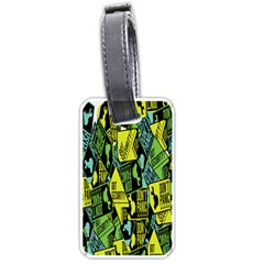 Don t Panic Digital Security Helpline Access Luggage Tags (one Side)  by Alisyart