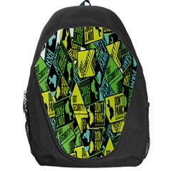 Don t Panic Digital Security Helpline Access Backpack Bag by Alisyart