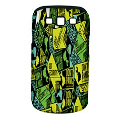 Don t Panic Digital Security Helpline Access Samsung Galaxy S Iii Classic Hardshell Case (pc+silicone) by Alisyart