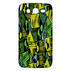 Don t Panic Digital Security Helpline Access Samsung Galaxy Mega 5 8 I9152 Hardshell Case  by Alisyart