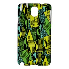 Don t Panic Digital Security Helpline Access Samsung Galaxy Note 3 N9005 Hardshell Case by Alisyart