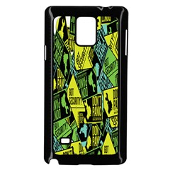 Don t Panic Digital Security Helpline Access Samsung Galaxy Note 4 Case (black) by Alisyart