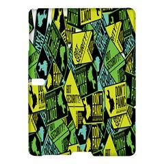 Don t Panic Digital Security Helpline Access Samsung Galaxy Tab S (10 5 ) Hardshell Case  by Alisyart