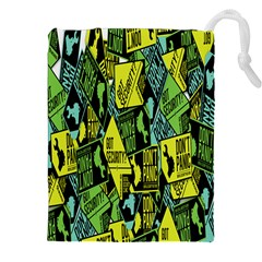 Don t Panic Digital Security Helpline Access Drawstring Pouches (xxl) by Alisyart