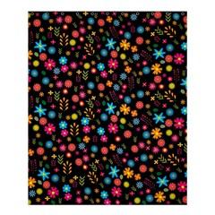 Floral Pattern Shower Curtain 60  X 72  (medium)  by Valentinaart