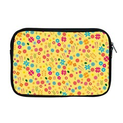 Floral pattern Apple MacBook Pro 17  Zipper Case