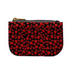 Strawberry  Pattern Mini Coin Purses by Valentinaart