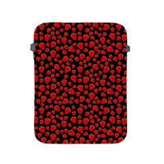 Strawberry  Pattern Apple Ipad 2/3/4 Protective Soft Cases by Valentinaart