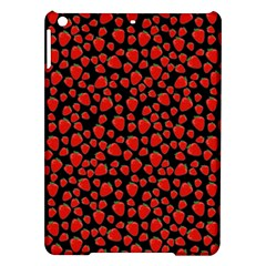 Strawberry  Pattern Ipad Air Hardshell Cases by Valentinaart