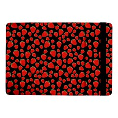 Strawberry  Pattern Samsung Galaxy Tab Pro 10 1  Flip Case by Valentinaart