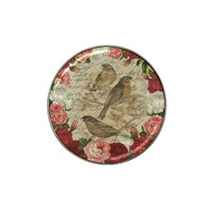 Vintage Birds Hat Clip Ball Marker by Valentinaart