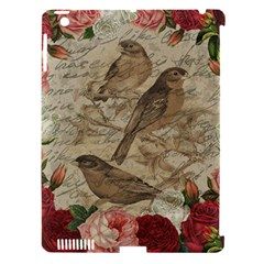 Vintage Birds Apple Ipad 3/4 Hardshell Case (compatible With Smart Cover) by Valentinaart