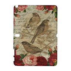 Vintage Birds Galaxy Note 1 by Valentinaart