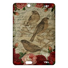 Vintage Birds Amazon Kindle Fire Hd (2013) Hardshell Case by Valentinaart