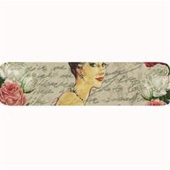 Vintage Girl Large Bar Mats by Valentinaart