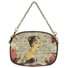 Vintage Girl Chain Purses (one Side)  by Valentinaart