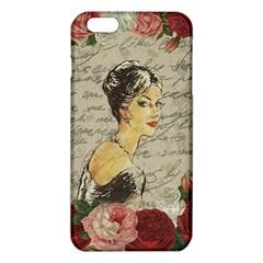 Vintage Girl Iphone 6 Plus/6s Plus Tpu Case by Valentinaart