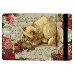 Vintage Kitten  Ipad Air Flip by Valentinaart
