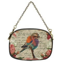 Vintage Bird Chain Purses (one Side)  by Valentinaart
