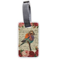 Vintage Bird Luggage Tags (two Sides) by Valentinaart