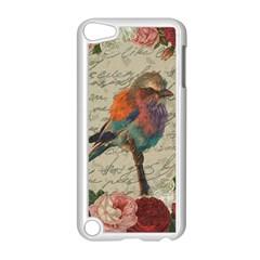 Vintage Bird Apple Ipod Touch 5 Case (white) by Valentinaart
