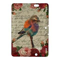 Vintage Bird Kindle Fire Hdx 8 9  Hardshell Case by Valentinaart