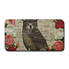 Vintage Owl Medium Bar Mats by Valentinaart