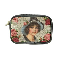 Vintage Girl Coin Purse by Valentinaart
