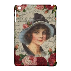 Vintage Girl Apple Ipad Mini Hardshell Case (compatible With Smart Cover)