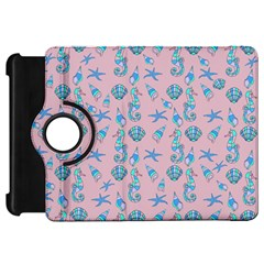 Seahorse Pattern Kindle Fire Hd 7  by Valentinaart