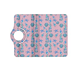 Seahorse Pattern Kindle Fire Hd (2013) Flip 360 Case by Valentinaart