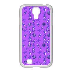 Seahorse Pattern Samsung Galaxy S4 I9500/ I9505 Case (white) by Valentinaart