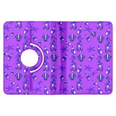 Seahorse Pattern Kindle Fire Hdx Flip 360 Case by Valentinaart