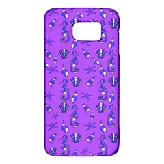 Seahorse Pattern Galaxy S6 by Valentinaart