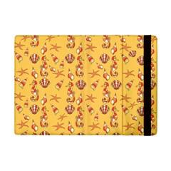 Seahorse Pattern Ipad Mini 2 Flip Cases by Valentinaart