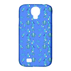 Seahorse Pattern Samsung Galaxy S4 Classic Hardshell Case (pc+silicone) by Valentinaart