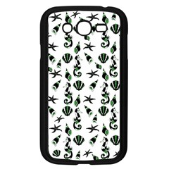 Seahorse Pattern Samsung Galaxy Grand Duos I9082 Case (black) by Valentinaart