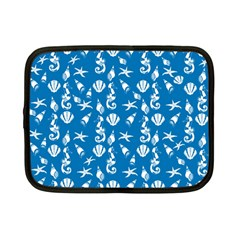 Seahorse Pattern Netbook Case (small)  by Valentinaart