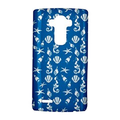 Seahorse pattern LG G4 Hardshell Case by Valentinaart