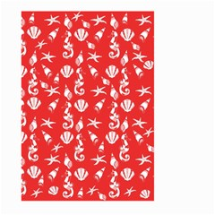 Seahorse Pattern Large Garden Flag (two Sides) by Valentinaart