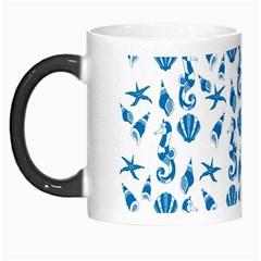 Seahorse Pattern Morph Mugs by Valentinaart