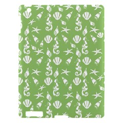 Seahorse Pattern Apple Ipad 3/4 Hardshell Case by Valentinaart