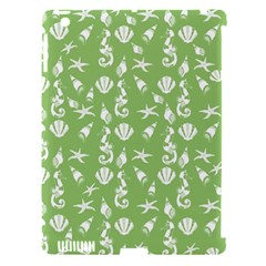 Seahorse Pattern Apple Ipad 3/4 Hardshell Case (compatible With Smart Cover) by Valentinaart