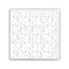 Seahorse Pattern Memory Card Reader (square)  by Valentinaart