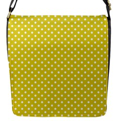 Polka Dots Flap Messenger Bag (s) by Valentinaart