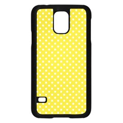Polka Dots Samsung Galaxy S5 Case (black) by Valentinaart