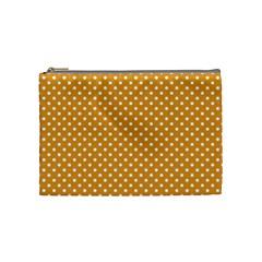 Polka Dots Cosmetic Bag (medium)  by Valentinaart